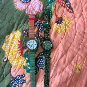 Swatch Watch. Fun. Colorful. Pick Either.
